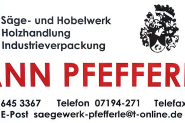 Johann Pfefferle KG